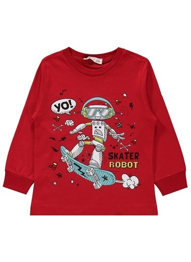 Civil Boys Civil Boys Erkek Çocuk Pijama Takimi 2-5 Yaş Kirmizi Civil Boys Erkek Çocuk Pijama Takimi 2-5 Yaş Kirmizi Kırmızı